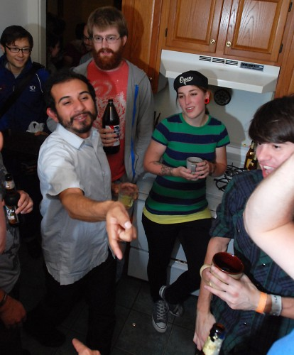 Your typical rowdy Allston Party | Photo by Stephanie Crumley
