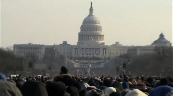 U.S. Capitol Building during Obama's Inauguration | Photo by Mike Pitter