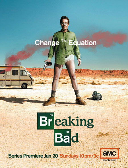Promotional photo for AMC's Breaking Bad