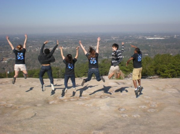 Group on Stone Mountain