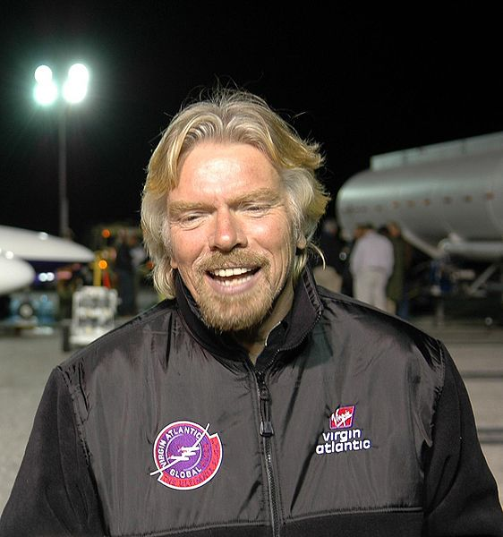 Sir Richard Branson and NASA ridiculousness