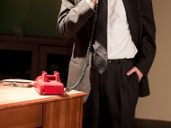 Phil Silberman (CAS '11) as Tony Wendice in Dial M for Murder | photo courtesy Wandering Minds