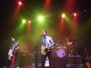 The Shins live _ Photo by Mike Mantin via Wikimedia Commons