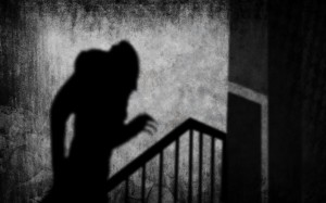 Nosferatu on the Stairs Shadow