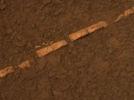 Gypsum Vein on Mars