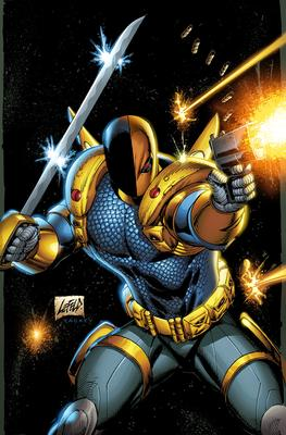 An Army of Pouches and Muscles featuring Deathstroke | Courtesy DC Comics