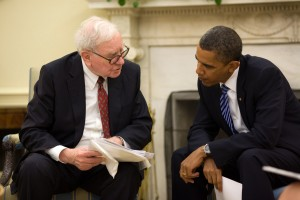 Warren Buffett and President Obama