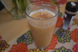 Spiced Pumpkin Smoothie l Photo by Samantha Wood