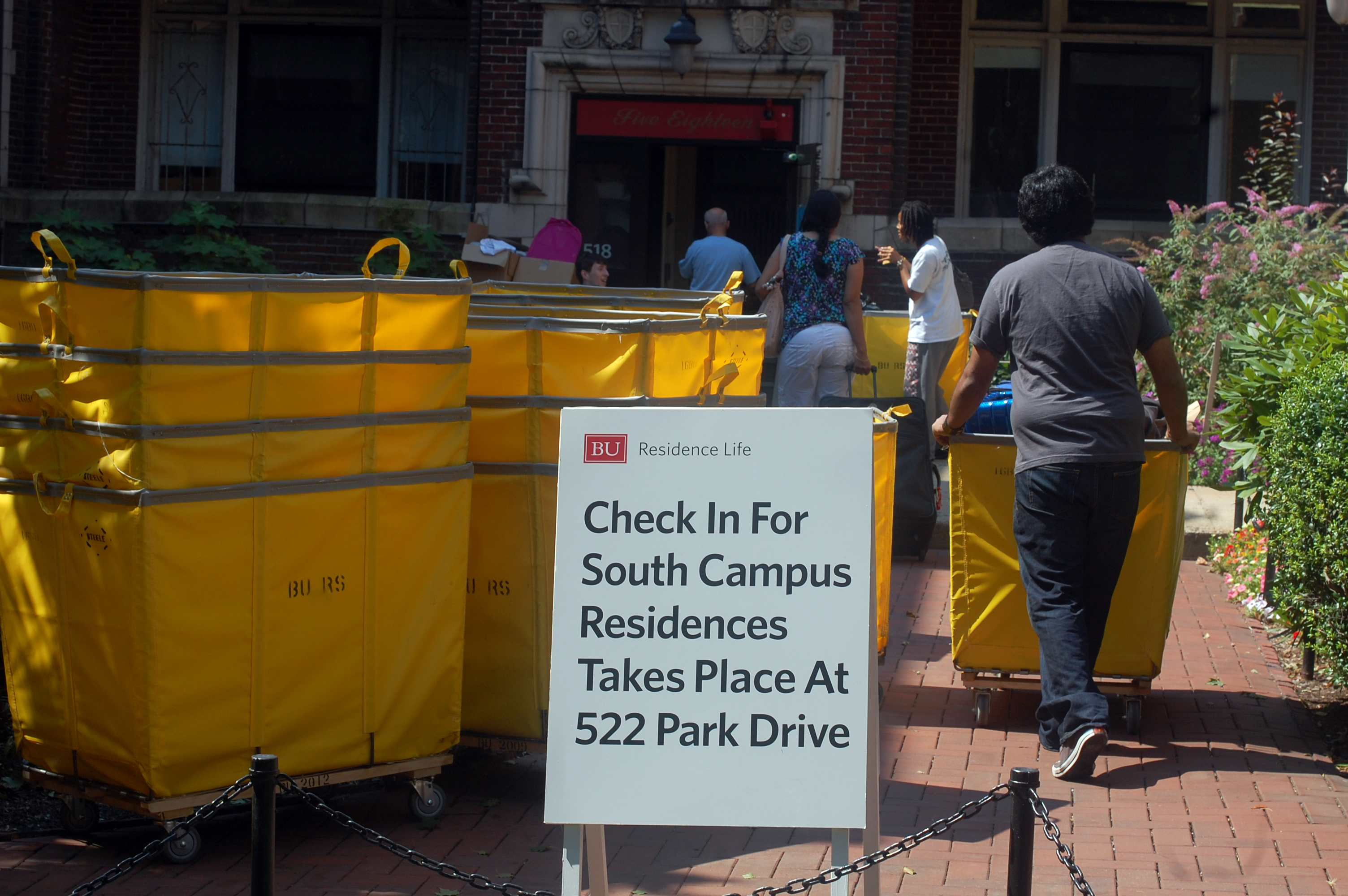 This wasn't an uncommon level of activity in South Campus, as most students who received free housing stayed in South this summer