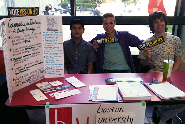 Students from the SSDP in the GSU Link.   Photo by