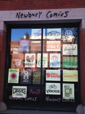 The outside storefront of Newbury on Newbury. | Photo courtesy of Jon Christianson