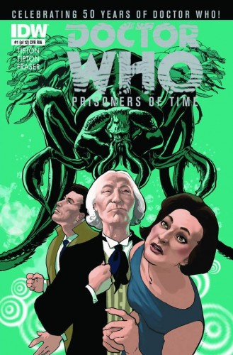 Doctor Who: Prisoners of Time #1 | Cover courtesy of IDW Publishing