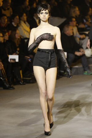 Dang! A jaw-dropper at Marc Jacobs. Photo via wwd.com.