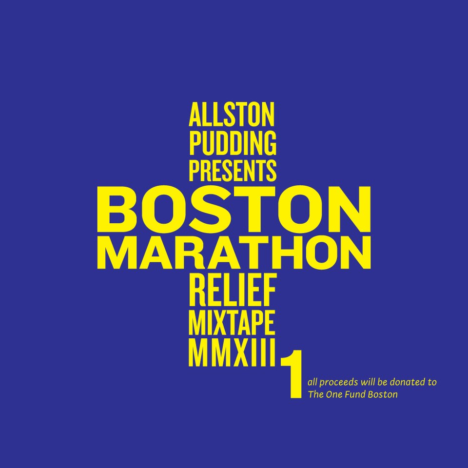 Allston Pudding's Marathon Relief Mix Tape is awesome. Go buy it. Photo ? Allston Pudding.