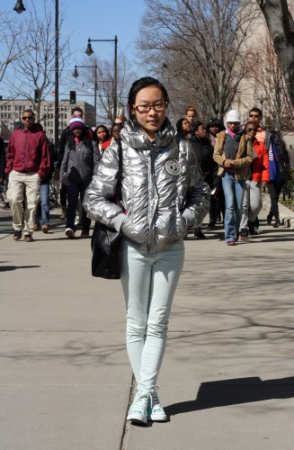This girl's brings icy coolness to a sunny day. Photo by Sharon Weissburg.