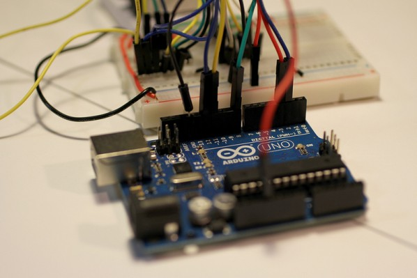 Affordable microcomputers, like this Arduino Uno, make it easier than ever for you to get started in robotics. | Photo courtesy Flickr via gabriella_levine.