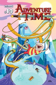 The latest, Adventure Time #19 | Cover courtesy BOOM! Studios