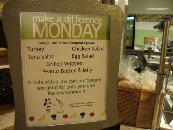 Make a Difference Monday features sustainable, healthful alternatives. | Image via BU Dining.