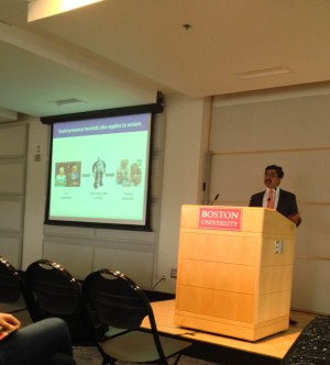 Distinguished professor Shyam Sundar talks about interactive media and psychology