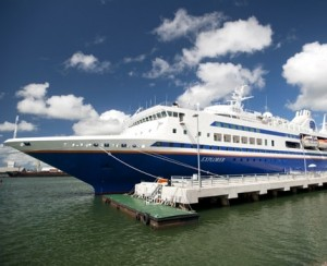 The MV Explorer: A Floating University.  |  Photo courtesy of the Institute for Shipboard Education.