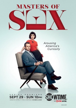 Master's of Sex airs on Sunday nights at 10:00 p.m. on Showtime.   Photo courtesy of Showtime.