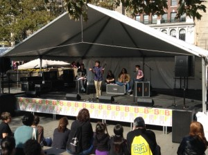 Spoken word poets from Berklee College of Music