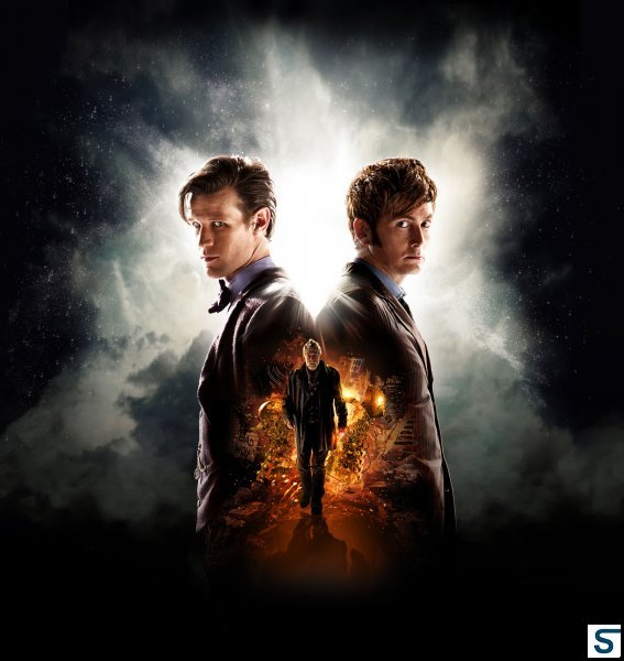Promotional poster for The Day of the Doctor. Courtesy of BBC