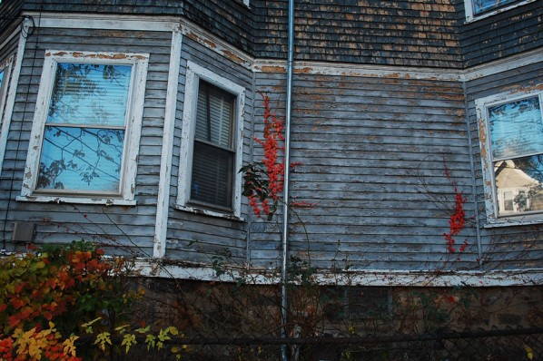 Minor cosmetic damages like peeling paint and damaged sidings could cause tenants to face unexpected inspections. | Photo by Ashley Hansberry.