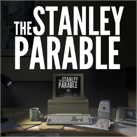 Official logo for The Stanley Parable. Photo credit XAntwane