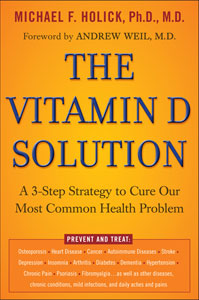 Dr. Michael Holick's book | Photo courtesy of vitamindhealth.org