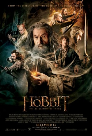 The Hobbit: The Desolation of Smaug promotional poster courtesy of Warner Bros. Pictures