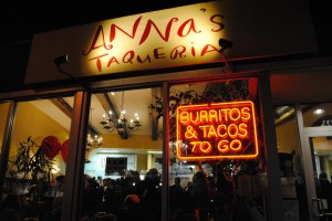 Anna's Taqueria | Photo by Carol Chin