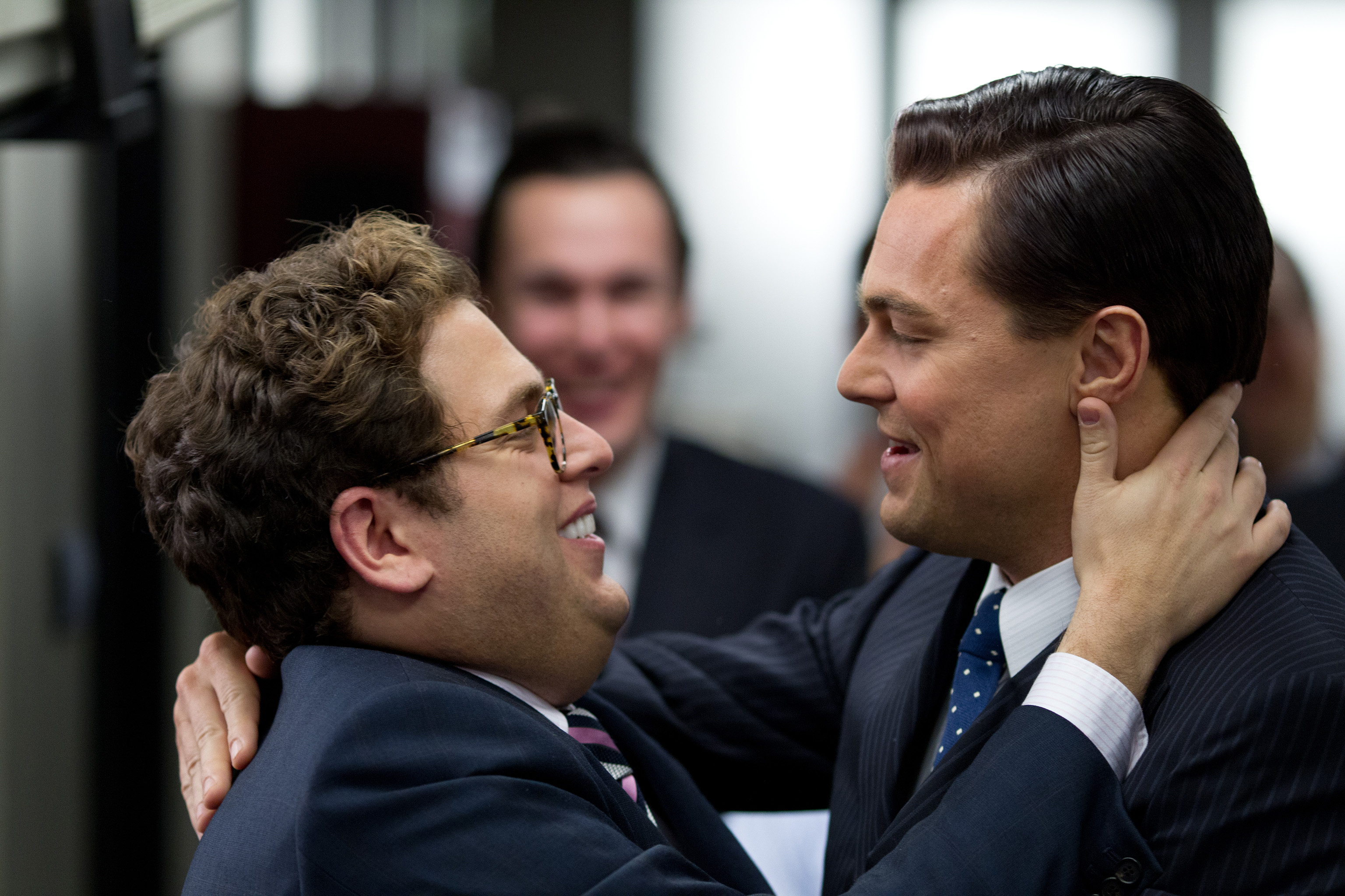 And leonardo dicaprio plays jordan belfort in the wolf of wall street
