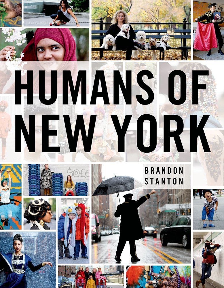 Cover of Brandon Stanton's new book. Promotional image courtesy of St. Martin's Press
