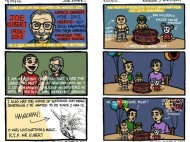 Entries from his autobiographical webcomic.