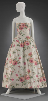 Dress (part two of a two-piece evening ensemble)  Christian Dior, 1956 Gift of Mrs. John P. Sturges Photograph © Museum of Fine Arts, Boston
