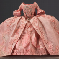 18th Century Pink Doll's Dress The Elizabeth Day McCormick Collection Photograph © Museum of Fine Arts, Boston