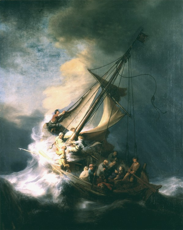 """Rembrandt, """"The Storm on the Sea of Galilee"""", one of the 13 stole artworks 