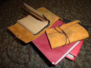 pocket-sized travel journals | photo courtesy of Michelle Cheng