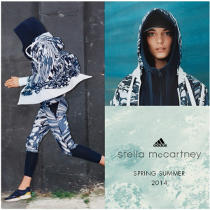 Image of Stella McCartney's collection for Adidas and Serenella, featured on Yaar's blog | Screenshot by Megan Kirk