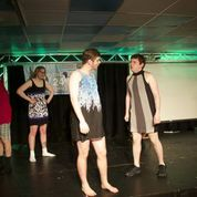 """Men of Liquid Fun perform during """"Drag Prov""""