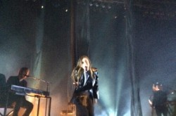 Lykke Li performs at the House of Blues Boston | Photo by Michelle Cheng.