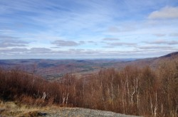 View of Upstate NY from a drive-up mountain