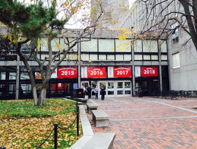 According to BU Today, only 45.5% was accepted for the Class of 2018 compared to to 34% for the Class of 2016 | Photo by Michelle Cheng.