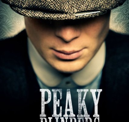 Cillian Murphy as Thomas Shelby. Promotional poster courtesy of BBC Two.