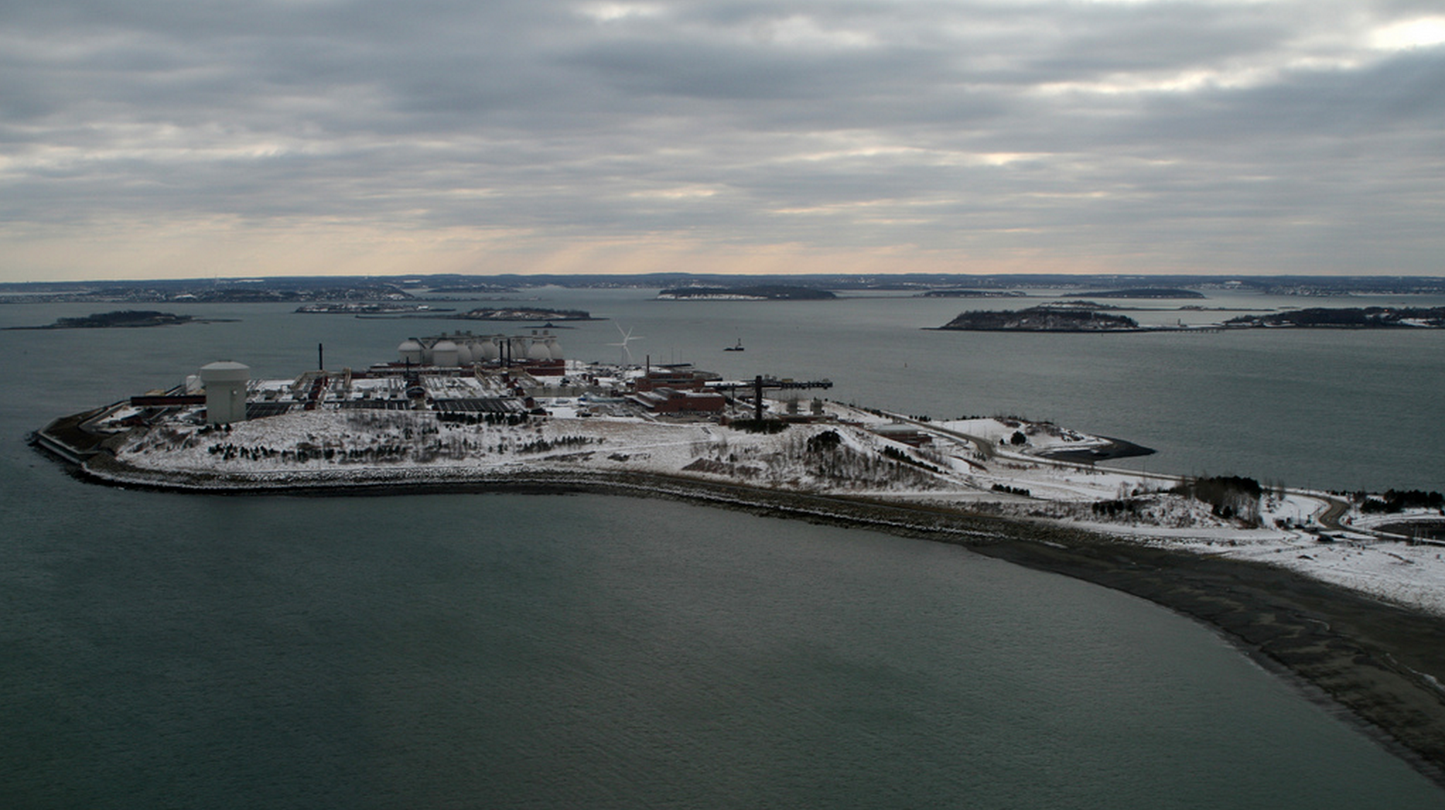 Deer Island Waste Water Treatment Plant | Photo courtesy of Doc Searls