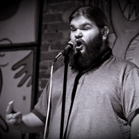 NYC poet Jared Singer. Featured at the Boston Poetry Slam September 30. Photo by Jonathan Weiskopf.