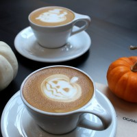 Ogawa Coffee will offer Halloween designs for the month of October. | Photo courtesy of Ogawa Coffee.