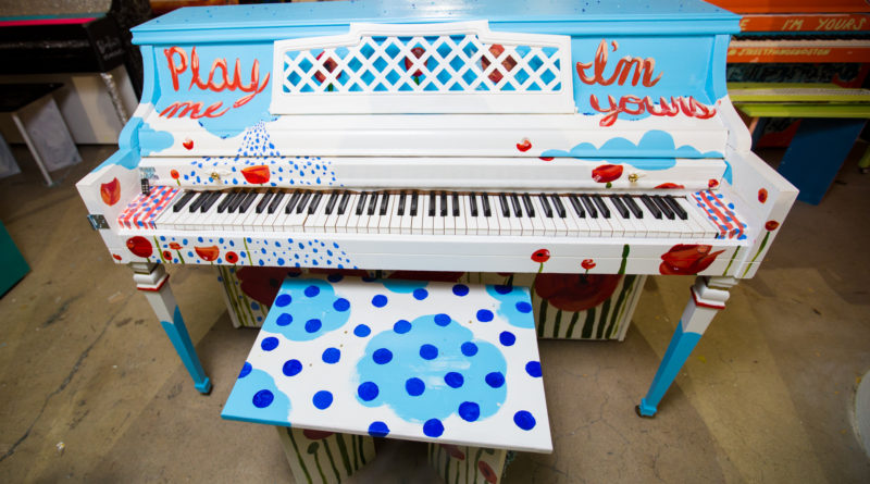 GSU piano by Chelsea Rathbun. | Photo provided.